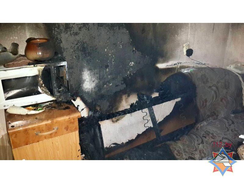 В Бресте при пожаре в квартире эвакуировали троих соседей