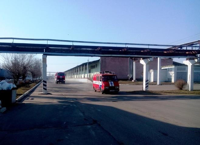 Дзяржынскае РАНС правяло вучэнні на базе ААТ «Белхим»