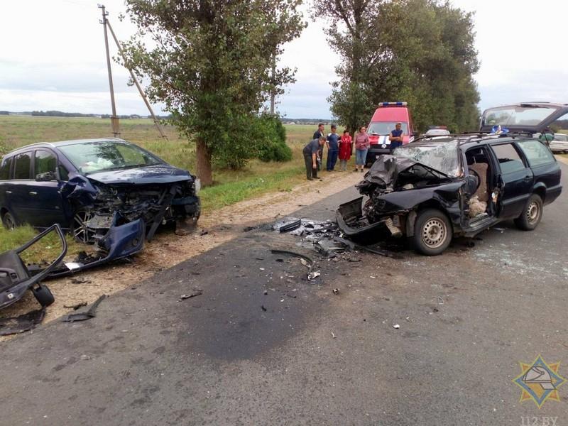 В Брестском районе спасатели деблокировали водителя VW Passat