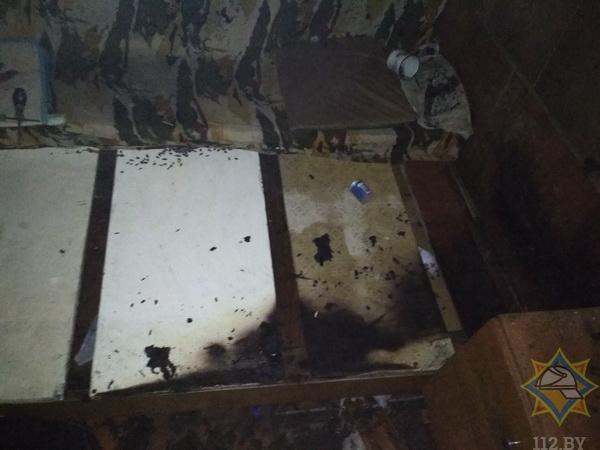 В Бресте работники МЧС спасли из огня трех человек
