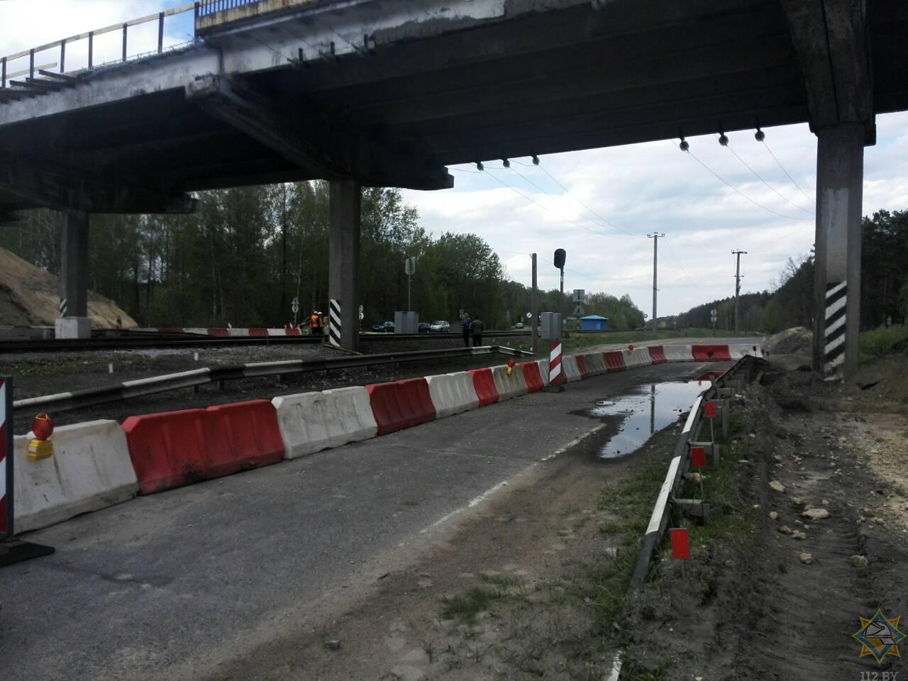 Путепровод в Лунинецком районе отремонтируют к ноябрю